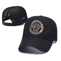 Versace Women Men Fashion Logo Adjustable Travel Hat Sport Cap