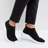 ASOS DARLINGTON Sock Sneakers at asos.com