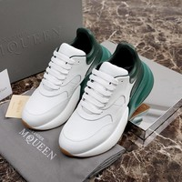 Alexander McQueen Coloured Broad Sports Shoes-4