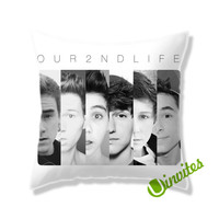 Our Second Life Band Square Pillow Cover