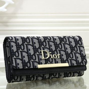 Dior Women Fashion Leather  Purse Handbag