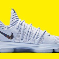 Nike KD 10 'Anniversary' Suede Faint Blue For Sale