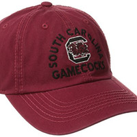 NCAA South Carolina Fighting Gamecocks Men's Fair Catch Adjustable Cap (Garnet, One Size)