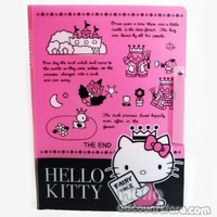 Sanrio Hello Kitty Clear Binder School Supply : Once upon a time $6.50