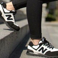 DCCKGQ8 new balance leisure shoes running shoes men s shoes for women s shoes couples n word black n word