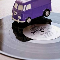 Record Runner Portable VW Bus Vinyl Record Player