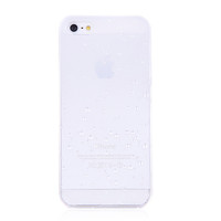 White Clear Waterdrop Hard Case For iPhone 5 & 5S