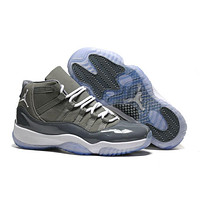 "Air JORDAN RETRO 11 ""Cool-Grey"" 378037-001"