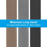 New Milanese Loop Band for Apple Watch Series 4 44mm 40mm watchband for iwatch 4 Nike+ Metal stainless steel Strap