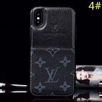 LV Louis Vuitton Fashion New Monogram Check Women Men Protective Cover Phone Case-1
