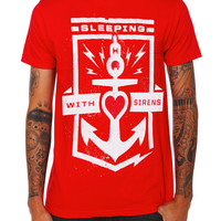 Sleeping With Sirens Anchor Slim-Fit T-Shirt   Hot Topic