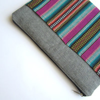 Aztec MacBook 13 sleeve with zipper, MacBook Air 13 sleeve, MacBook Air 13 Case, MacBook Pro 13 case,
