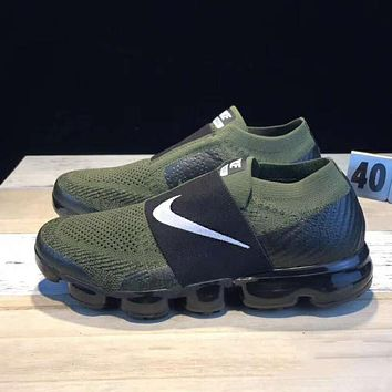 Tagre™ Nike Air Vapormax Popular Men Sport Leisure Sneakers Running Shoes Army Green I-CSXY