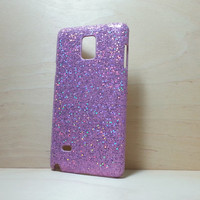 Glitter Case for Samsung Galaxy Note 4 - Light Purple