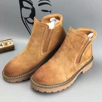 UGG Autumn and Winter Boots Snow Boots for Women and Men Martin Boots Brown