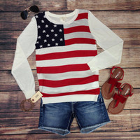 STAR SPANGLE SUMMER SWEATER