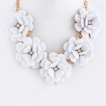 In Bloom Statement Necklace