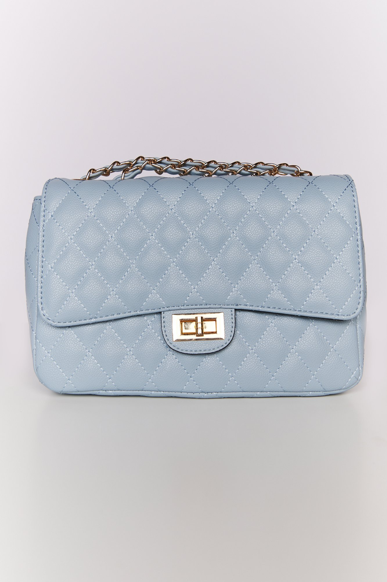 Image of Nights Out Quilted Purse (Blue)