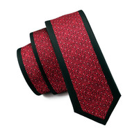 Tie Silk Necktie Fix Pattern New Casual Classic Fashion For Men Wedding Party Business