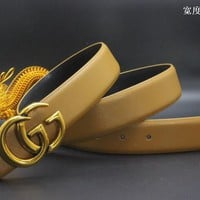 Gucci Belt Men Women Fashion Belts 537596
