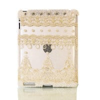 Bling Lace iPad Case Cover