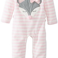 Mudpie-Mouse Footed One Piece, Pink