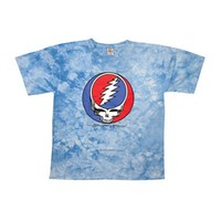 Grateful Dead Men's  Steal Your Face Tie Dye T-shirt Multi