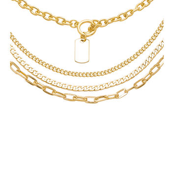 8 Other Reasons Cadet Lariat Necklace in Gold
