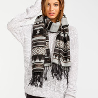 Full Tilt Womens Cable Knit Step Hem Sweater Heather Grey  In Sizes