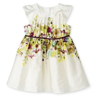 Toddler Girls Raglan Floral Burst Dress
