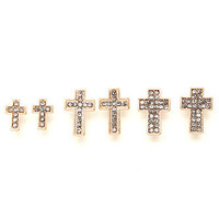 With Love From CA Stone Cross Earring Set at PacSun.com