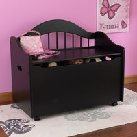 Limited Edition Toy Box  - Black on Casters
