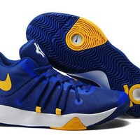 2017 Nike Zoom Kevin Durant Trey6 Men's Po Blue /Yellow Basketball Shoes