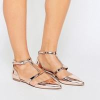ASOS LETTY Pointed Ballet Flats