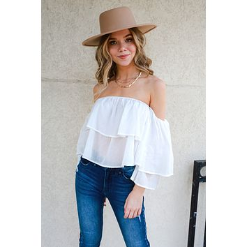 More Than Charming Top - Off White