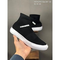 """Converse Chuck Taylor Hi""""Sock"""" cheap mens and womens Fashion Canvas Flats Sneakers Sport Shoes"""