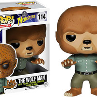 Wolfman Vinyl Figure POP! Movies #114 Universal Monsters Funko