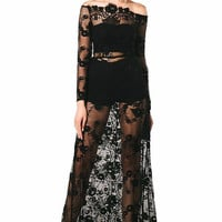 Tiara Maxi Lace Dress