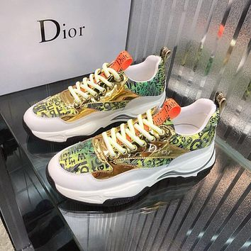 dior fashion men womens casual running sport shoes sneakers slipper sandals high heels shoes 221