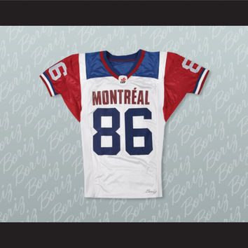 Ben Cahoon 86 Montreal Alouettes Football Jersey Stitch Sewn New
