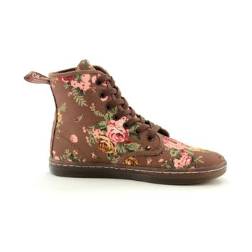 Womens Dr. Martens Eclectic Boot, Brown  Journeys Shoes