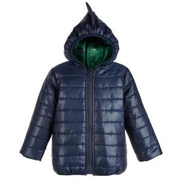 First Impressions Baby Boys Hooded Dinosaur Puffer Jacket, Various Sizes, Colors