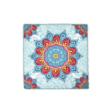 HDF2758-2 - MANDALA DESIGN SQUARE BEACH TOWEL