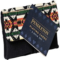 Pendleton Playing Cards: 2-Deck Set (Camping Games, Gift for Outdoor Enthusiasts)