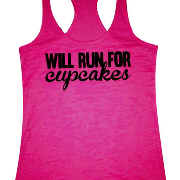 Will Run For Cupcakes- TANK -See Color Options