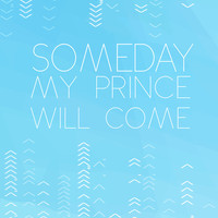 Someday my prince will come... snow white.. romantic disney movie quote Art Print by studiomarshallarts