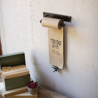 X-Small Hanging Note Roll With One Brass Clip