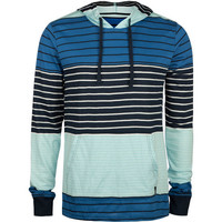 Micros Hektor Mens Lightweight Hoodie Blue  In Sizes