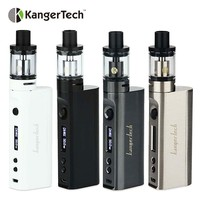 Original 50W Kanger Subox Mini-C Starter Kit Electronic Cig Kit with 0.5ohm SSOCC coil Kangertech Atomizer Bottom Airflow