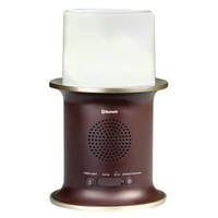 AR 4-Watt 2-Way Wireless Bluetooth® Outdoor Speaker with LED Candle